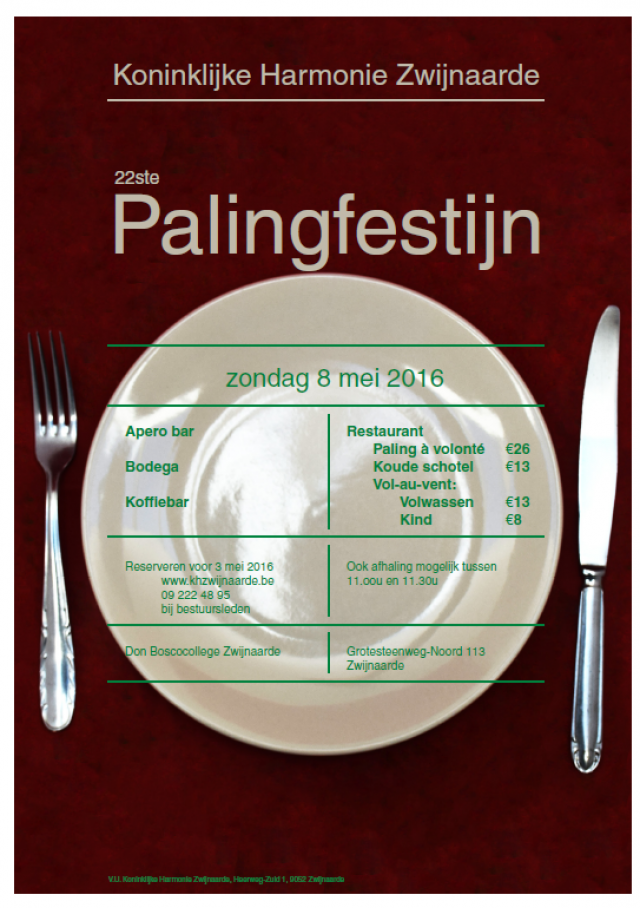 Palingfestijn 2016